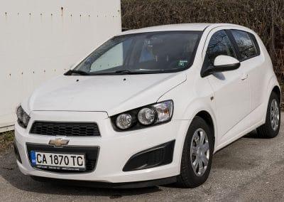 Chevrolet Aveo hatch back (4)